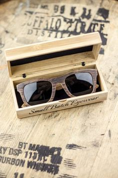 Bourbon barrel sunglasses