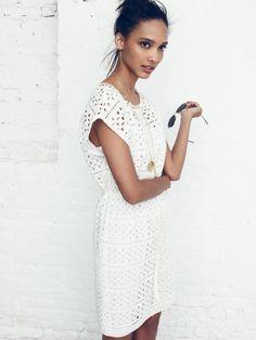 Madewell Daisylace dress