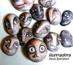 Coleccionando Piedras...: Piedras pintadas...