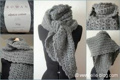 Etole au crochet en Alpaca cotton modèle Clarity du livre Cherished de Kim Hargreaves