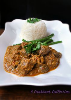 Beef Rendang - A Cookbook Collection Delicious rich Malaysian curry