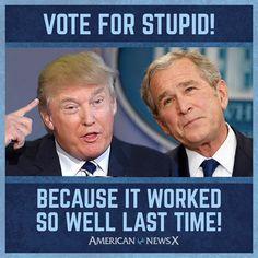 I wouldnt go that far but still funny... Haha #NeverTrump