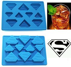Funny Star Wars Superman Ice Cube Tray Ice Cream Tools Frozen Popsicle Ice Mold Sorvete Moulds Party Drink Ice New Tricks Maker