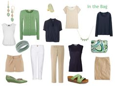 """The Vivienne Files: """"Whatever's Clean 13"""" in Green, Navy and Beige"""