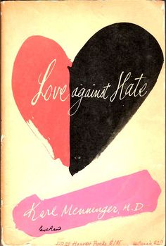 Hand-drawn Love Against Hate by Paul Rand, 1942. Fanciable   @TypeTasting  via @thinkstudionyc