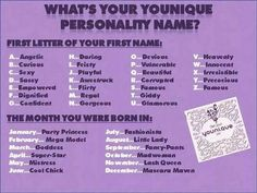 Let's play another fun game!!! :-) Tell me your Younique Personality Name! Game is worth *10 points* Mine is Flirty Super-Star!!