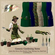 Genesis Gardening Items, for my farming characters!