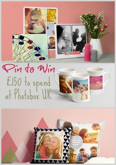 WIN to Spend at Photobox - Love Chic Living The giveaway closes on Sunday April 2015 Competition Giveaway, Box Uk, Stuff To Do, Cool Stuff, Win A Trip, Rhyme And Reason, I Cool, Projects To Try, About Me Blog