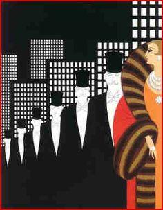 Erte-- Art Deco