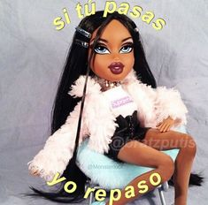 Bratz Doll Makeup, Bratz Doll Outfits, Retro Wallpaper Iphone, Cartoon Wallpaper, Cartoon Profile Pics, Cartoon Profile Pictures, Black Girl Makeup, Girls Makeup, Cartoon Icons