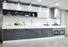 Modular kitchen design becomes a style affirmation of new kitchen design and contemporary design for modern house. Here we give you some best ideas! Kitchen Room Design, Kitchen Cabinet Design, Interior Design Kitchen, Kitchen Decor, Contemporary Kitchen Cabinets, Modern Kitchen Interiors, Contemporary Kitchen Design, Kitchen Modern, Kitchen Modular