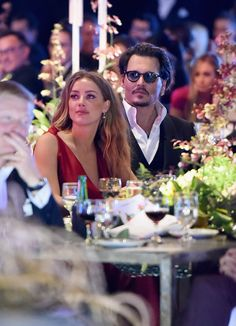 Actors Amber Heard and Johnny Depp attend The Art of Elysium 2016 HEAVEN Gala presented by Vivienne Westwood & Andreas Kronthaler at on January 2016 in Culver City, California. Amber Heard Johnny Depp, Amber Heard Style, Amber Heard Photos, Paula Patton, Olga Kurylenko, Ali Larter, Liv Tyler, Olivia Wilde, Rachel Mcadams