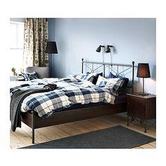 KUSTRUTA Duvet cover and pillowcase(s) - Full/Queen (Double/Queen) - IKEA extra bedroom