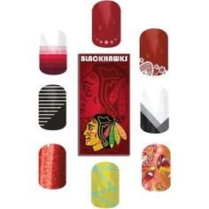 Support your favorite team with #Jamberry! #blackhawks