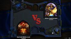 Hearthstone®: Heroes of Warcraft ™: Paladín contra Guerrero! http://www.smartphonesinside.com/2014/10/24/90259/hearthstone-llegara-para-iphone-y-android