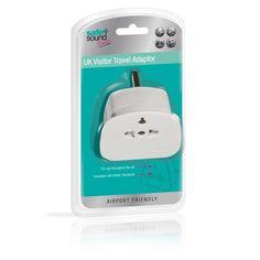 Safe & Sound UK Visitor Travel Adaptor.