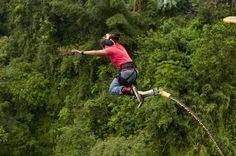 Bunjee Jumping in naranjo Bungee Jumping, Before I Die, Outdoor Activities, Life Hacks, Bucket, Journey, Lifestyle, World, Friends