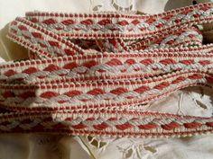 Vintage Home Decor Cotton Braid 7.3 Yards by SophieLadyDeParis