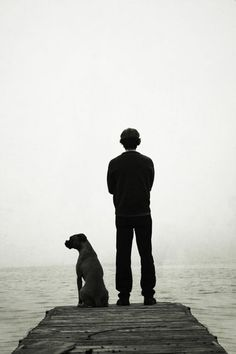 a boy and his boxer... maybe I ll take a pic like this one day...
