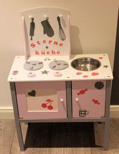 Kinderküche rosa grau pink weiß