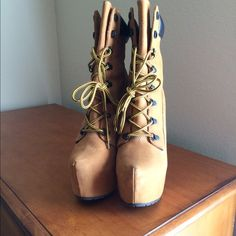 Zigi Soho Timberland Z-JO Mildly Worn Love This Shoe They Are Just Taking Up Space  Great For Winter Wear! Super HAWT! Zigi Soho Shoes