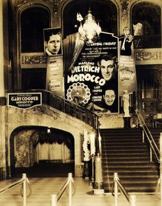 Paramount Theatre Lobby - Brooklyn, NY, 1930s what happened to these gorgeous old movie houses?