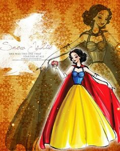 Disney Designer Princesses: Snow White - disney-princess Fan Art