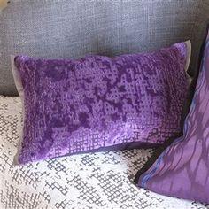 Boratti Violet Throw Pillow | Designers GuIld