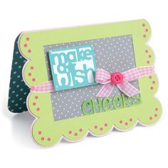 Sizzix Framelits Dies By Stephanie Barnard 15/PkgScallop Banners/Greetings DropIns Card
