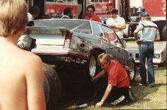 Warrn Johnson's Pro Stock Car