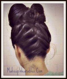 tutorials for hair styles lazy hairstyles on easy hairstyles bow buns 5357