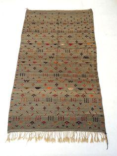 Berber 5x8 Tribal Handmade Moroccan Kilim Carpet Handmade Vintage Kilim Wool beni ouarain rug alfombras berberes flat woven kilim