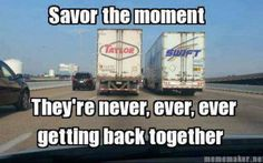 I am pinning this because Swift trucks always bring me good luck!  I don't know what Swift makes though, food?
