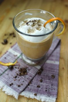 ☆ Hot Latte with Bailey's and Orange ☆