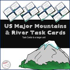 *Disclaimer* These task cards are a smaller portion of a larger unit.To see the larger unit, please click below:US Major Mountains and River UnitThese task cards are sure to keep students in engaged as they review this standard.  This pack includes:- 16 US Major Mountains and Rivers Task Cards (available in color and black and white)- Recording SheetIf you like this resource, you may also enjoy: https://www.teacherspayteachers.com/Product/Three-Branches-of-Government-742315CONNECT WITH…