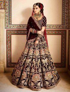 wedding lehnga bridal lehenga * wedding lehnga - wedding lehnga designs latest - wedding lehnga bridal lehenga - wedding lehnga royals - wedding lehnga indian - wedding lehnga for sister - wedding lehnga sabyasachi - wedding lehnga red Indian Bridal Outfits, Indian Bridal Wear, Indian Dresses, Bridal Dresses, Designer Bridal Lehenga, Bridal Lehenga Choli, Brocade Lehenga, Sabyasachi Wedding Lehenga, Sabyasachi Lehenga Bridal