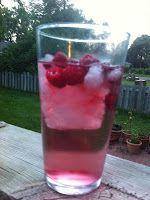 My Raspberry Sparkler Summer Drink Recipe