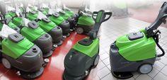 Lavasciuga, idropulitrici, spazzatrici disegnati per IPC Gansow | Antonio Sassi