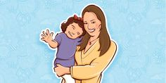 Ilustração para Cabeçalho - Mamãe de 1ª viagem, blog de Mariana Belém.