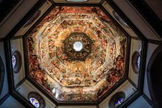 The Duomo in Florence, the Cathedral of Santa Maria del Fiore in Florence, Italy Giorgio Vasari, Santa Maria, Varanasi, Florence Cathedral, Florence Art, Renaissance, Les Religions, Photos Voyages, Iconic Photos