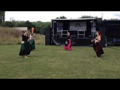 The Severn Sisters dancing Tribal Salsa Fusion - YouTube