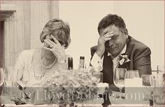 Listening to a wedding speech :)