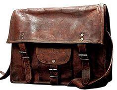 8723015c49e Right Choice Large 18 Mens Vintage Large Leather Shoulder Bag Women Diaper  Bag Travel Satchel Bag