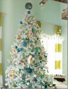 blue_green_flocked_christmas_tree_birds