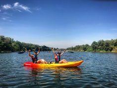 Paseo en kayak por el precioso Río Ebro Zaragoza España.  #kayak #rio #river #water #nature #naturaleza #deportes #sports #aventura #adventure #Spain #España #Aragón #zaragoza #city #travelling #travels #travel #viaje #viajes #viajar #viajeros #aventurero #amor #love #pasion #birthday #cumpleaños #sorpresa