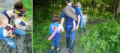 molly and her boys: babywearing EXPLORATION