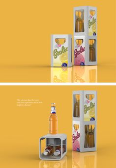 Grolsch 'Stender' packaging design concept for the product launch of a fictional new taste. Product Design, Packaging Design, Crates, Raspberry, Product Launch, Concept, Canning, Beer, Home Canning