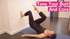 Pilates On The Wall: Marching Bridges - Prevention.com