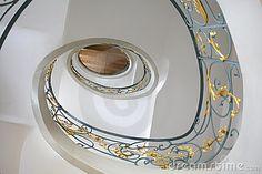 Beautiful Arti Nouveau / Jugendstil staircase