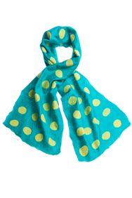 Spot scarf. Barcelona - Jade. Zoe Wall